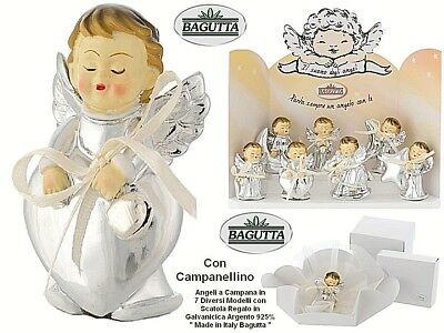 N.1 FAVOURS HOLY COMMUNION CONFIRMATION ANGEL H.6,5 with BELL GALVANIC