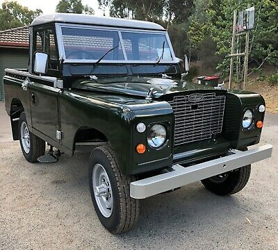 Land Rover Series 2A SWB 88 inch 1970 Restored