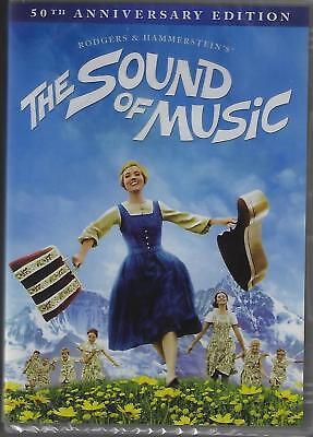 The Sound of Music  Dvd  Julie Andrews, Christopher Plummer, New And Sealed
