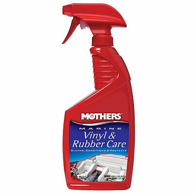 Mothers Polish 91424 24 Oz Bottle of Marine Vinyl and Rubber Care for Interiors