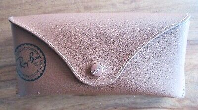 RAY-BAN Glasses Case Brown