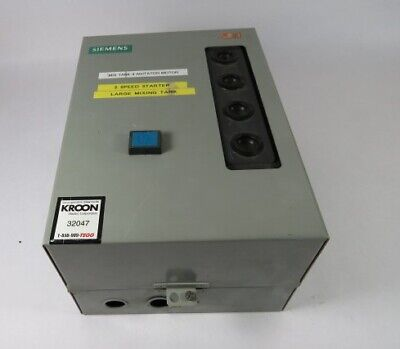 Siemens 2S1W Series 2 Combination Motor Controller 600V 3Ph 60Hz ! WOW !