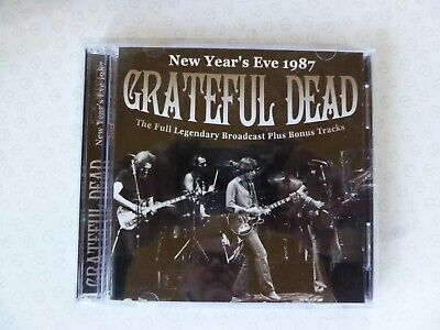 Grateful Dead - New Year's Eve 1987 Live Recording Double CD + Bonus Tracks
