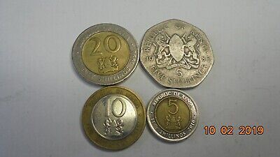 Kenya coins as photo