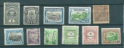 COLLECTION OF OLD STAMPS FROM MOZAMBIQUE    AS PER SCAN     mixed condition