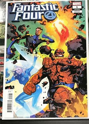 Fantastic Four #1 Lupacchino Variant - Marvel Comics 2018 - 1st Print Unread NM