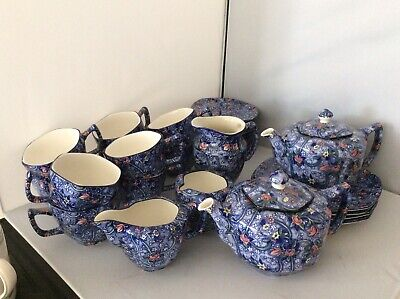 Modern Blue Chintz China For Ringtons - Buy Singly Or Multiples