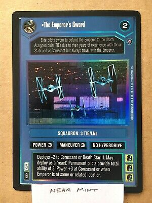 DEATH STAR II star wars ccg swccg Near Mint//Mint The Emperor/'s Sword