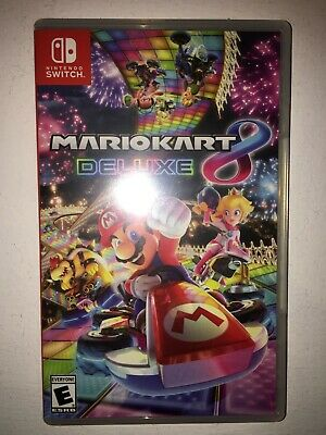 NINTENDO SWITCH Mario Kart 8 Deluxe Game Cartridge