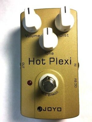 JOYO JF-32 Hot Plexi Electric Guitar Effect Pedal Overdrive Marshall Distortion