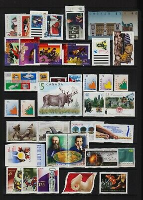Canada - Mint, NH stamps - FACE value $ 27.41