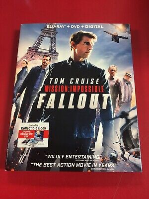 Mission Impossible: Fallout (Blu-Ray, 2018) BLU RAY ONLY VGC L@@K
