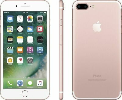 Apple iPhone 7 Plus 32GB Rose Gold Factory GSM Unlocked AT&T T-Mobile Smartphone