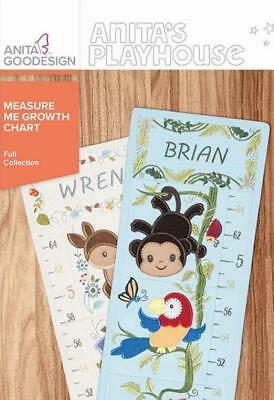 Measure Me Growth Chart        Anita Goodesign           NEW