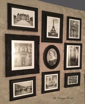Unique Collection Vintage French Shabby Chic Photo / Picture Frames Gallery Wall