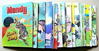 Mandy Picture Library, 24 issues between 31-235.