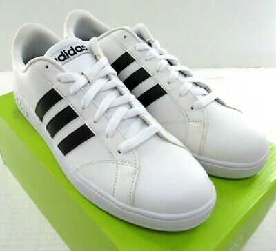new arrivals 56e75 9f008 Adidas Baseline AW5410 Men s Leather Sneaker White NWD