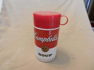 Campbell's Soup Red & White Plastic Thermos from 2010