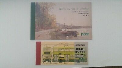 Ireland - 1993    2 Booklets Busses and impressionists  MNH Cat E31
