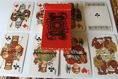 Russian PLAYING CARDS, 36 pack, perfect condition.