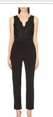 901482fbd7f REISS JUMPSUIT LACE bow size 6 bnwt like black - £50.00
