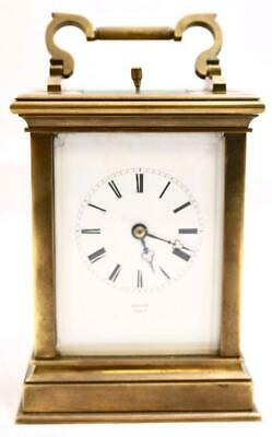 Antique Mantle Carriage Clock French Superb 1880s Repeat Striking Grohe Paris