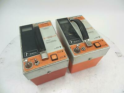 Lot of 2 HeathTech LS-990 Transmitter Underground Pipe and Cable Locator System