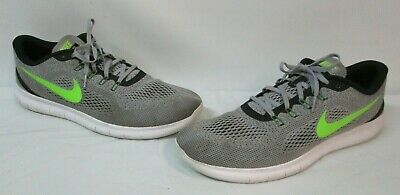 newest cee2c 3e4e1 Nike Free RN 831508-003 Mens Size 15 Running Shoes Gray Green