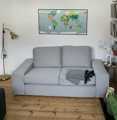 Astounding Ikea Kivik Two Seater Sofa Light Grey Hardly Used No Pabps2019 Chair Design Images Pabps2019Com