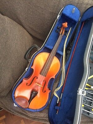 Anton Klier Viola With Case And Bow Poss Free Del Devon Cornwall
