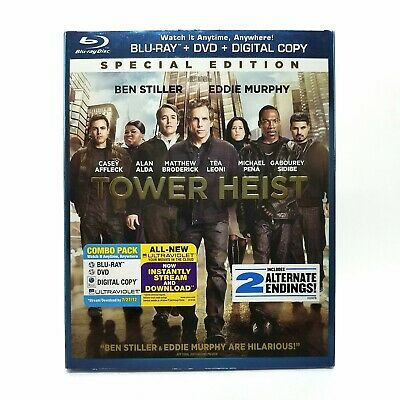 Tower Heist (2011) Like New Special Edition Blu-ray with SLIPCOVER! Ben Stiller