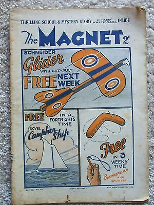 """The Magnet (Billy Bunter) - """"The Secret of the Oak"""" Single Issue August 8th 1931"""