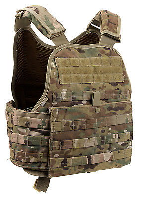 Oversized 3XL Plate Carrier Tactical Vest Molle Multicam Camo Army Rothco 1924