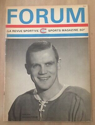 1965-66 Nhl Stanley Cup Finals Program Detroit Red Wings @ Montreal Canadiens