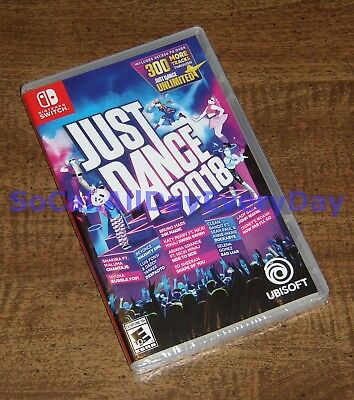 Just Dance 2018 (Nintendo Switch) BRAND NEW & FACTORY SEALED! Great for parties!