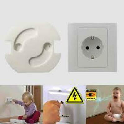 56 Pc Safety Outlet Plug Protector Covers Child Baby Proof Electric Shock Guard