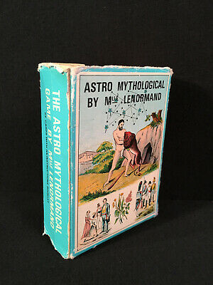 Astro Mythological Cards by Mlle Lenormand Booklet in English by  B. P Grimaud