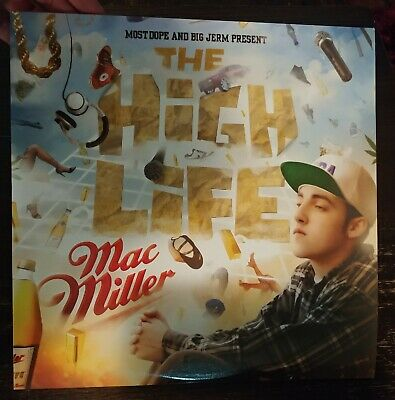 Mac Miller High Life vinyl 2LP swimming blue slide park faces divine