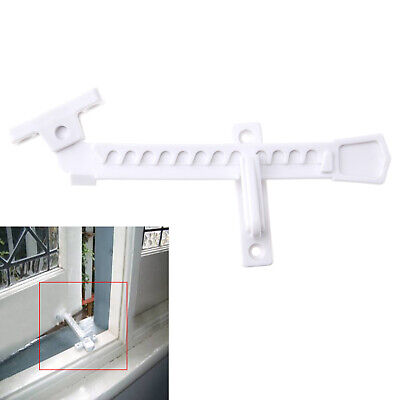 1/2 x UPVC ABS Window Ventilator Restrictor Child Lock Restrictor Safety Catch