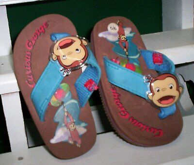 Curious George Baby Sandals
