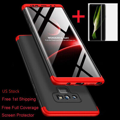 SLIM SHOCKPROOF 360 Case Screen Protector For Samsung Galaxy Note 10/9/8/S9 Plus