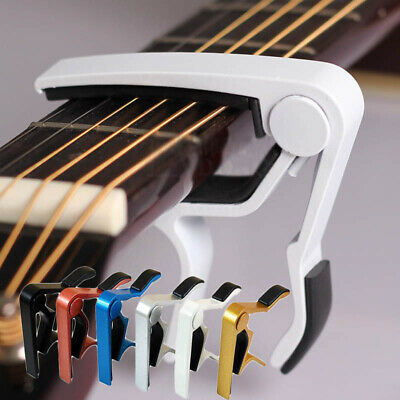 Al Alloy Guitar Capo Key Clamp Acoustic/Electric/Classic Trigger Quick Change