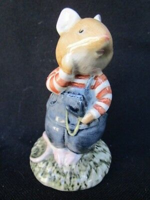 "Royal Doulton  Brambly Hedge  ""  WILFRED TOADFLAX ""  Figurine  -  Beautiful"