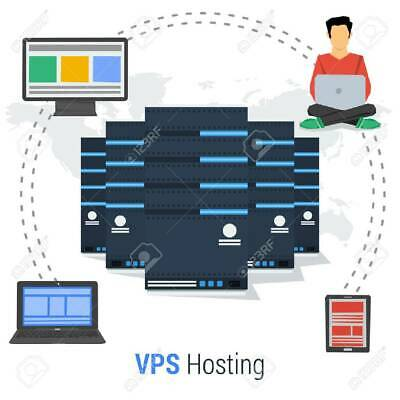 Entry VPS (Virtual Private Server) 512MB of Memory, 20GB HDD, and 1 vCPU.