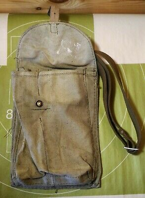 Authentic Russian Classic 4 Cell Ammo Pouch USSR Ammunition Bag with pocket