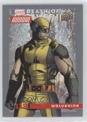 2016 Upper Deck Marvel Annual #113 SP Wolverine Non-Sports Card 4et
