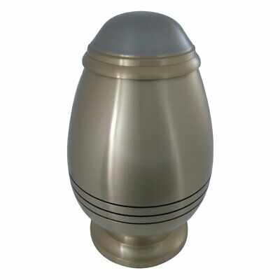 Cremation Urns Adult Urn Ashes, Classic Three Bands Bullet Model Big
