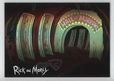 2018 Cryptozoic Rick and Morty Season 1 Anatomy Park #AP07 Hall of Marrows d8k
