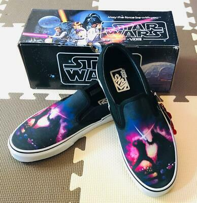 eeae44fc8970ca rare MENS VANS AUTHENTIC STAR WARS A NEW HOPE SLIP ON SHOES SIZE US 12 NEW