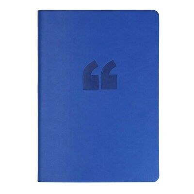 2019 Collins A5 Edge Lined Notebook Blue Color Gift - Free Postage